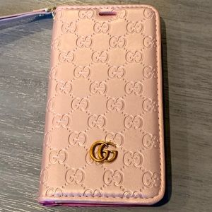 Rose Gold IPhone XS Max Wallet Phone Case
